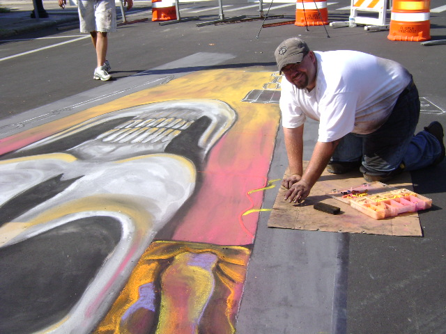 AfAH at Sarasota Chalk Festival 2010 029