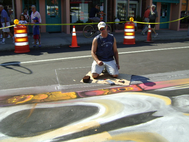 AfAH at Sarasota Chalk Festival 2010 045