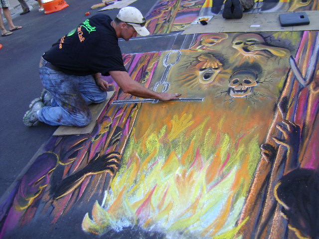 AfAH at Sarasota Chalk Festival 2010 315