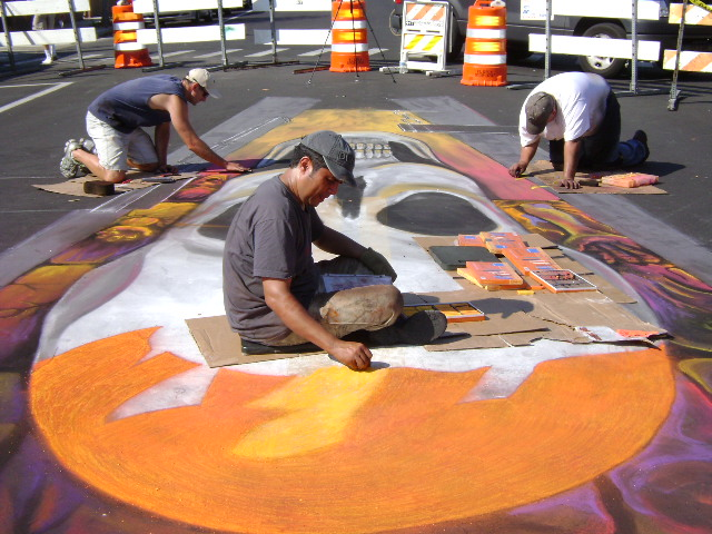 AfAH at Sarasota Chalk Festival 2010 022