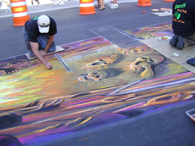 AfAH at Sarasota Chalk Festival 2010 313