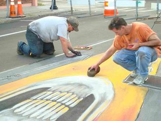 AfAH at Sarasota Chalk Festival 2010 WS 004