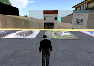 Streetpaintingtv in 3D Virtual World 060210_002