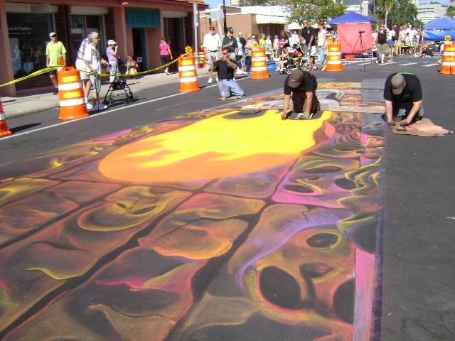 AfAH at Sarasota Chalk Festival 2010 171