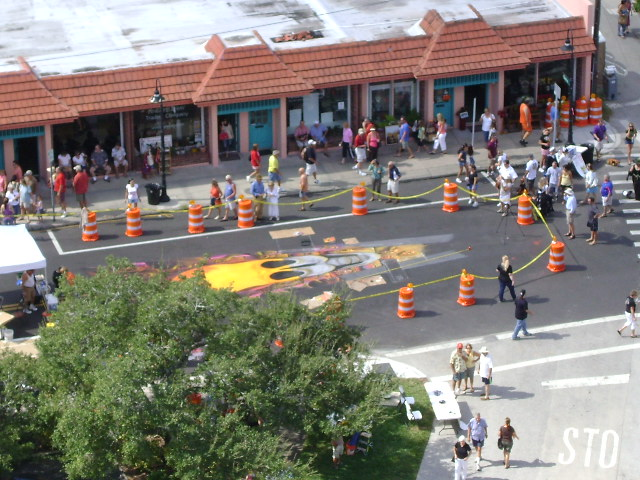 AfAH at Sarasota Chalk Festival 2010 177