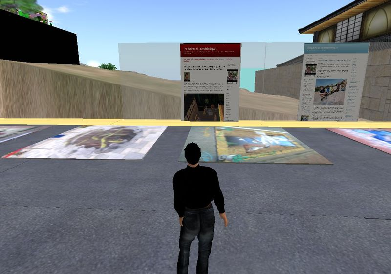 Blogs in 3D Virtual World 060210_001