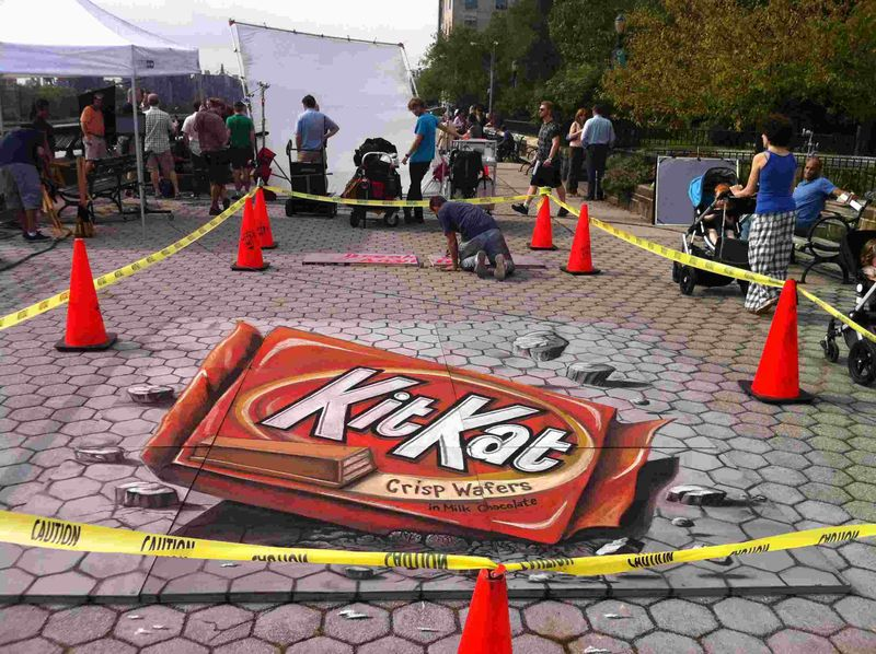 AfAH Kit Kat commercial w artist MMacaulay2
