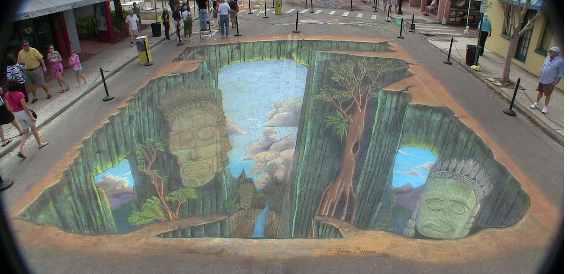 The Business of Street Painting Art: 'Visions of Cambodia