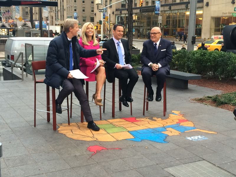 AfAH Super Tuesday Chalk Art Segment on FOX&Friends 030316