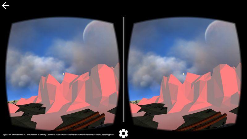 AfAH 4D VR goggles view Asian Fusion 360d Immersive 5 wm