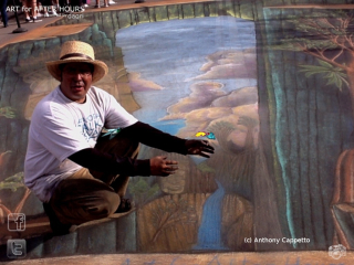 AfAH ACappetto Visions of Cambodia chalk AR illusion wm