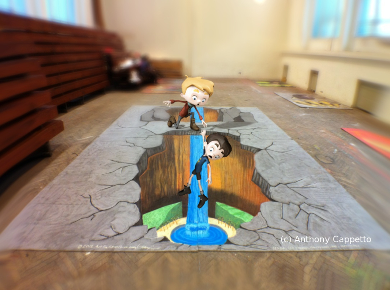 AfAH ACappetto _Mixamo-and-3D-Chalk-Art wm
