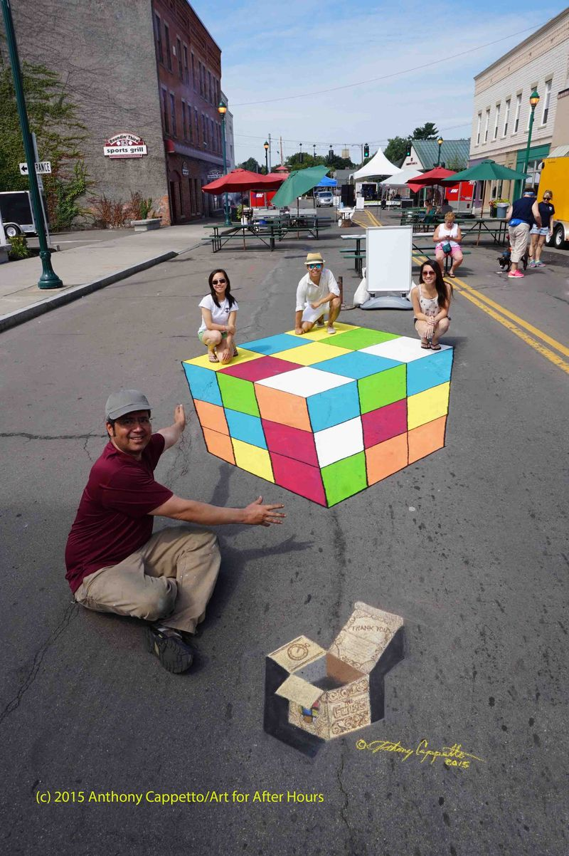 AfAH ACappetto The Cube 3D Street Art 072115 368l