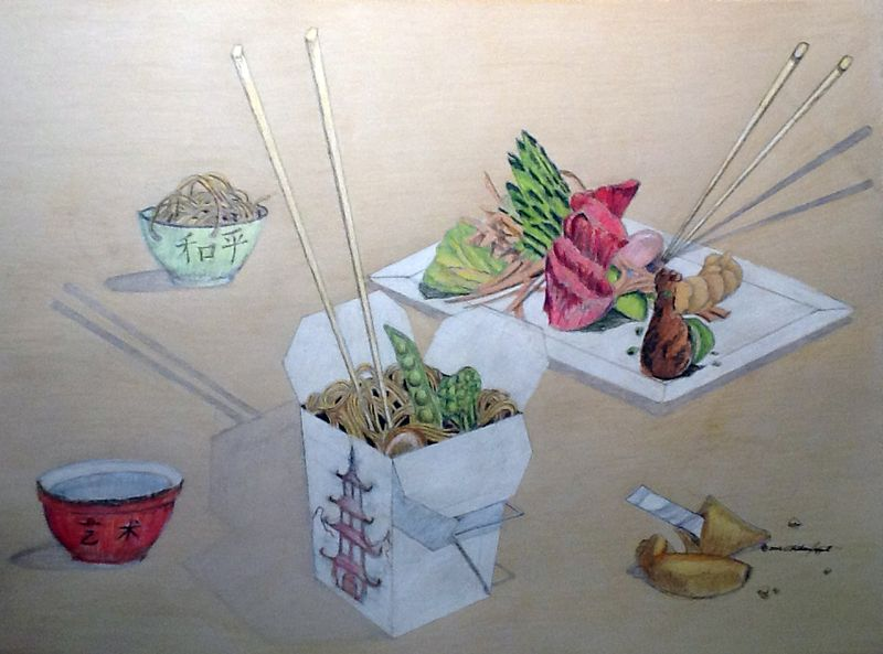 4D 'Asian Fusion' Color Rendering